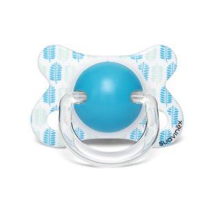 מוצץ לתינוק עלים כחול חברת סובינקס באתר סגל בייבי